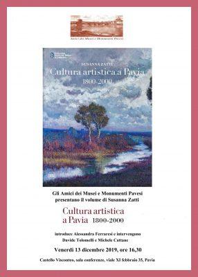 Gli Amici dei Musei Pavesi presentano il libro della socia onoraria Susanna Zatti
