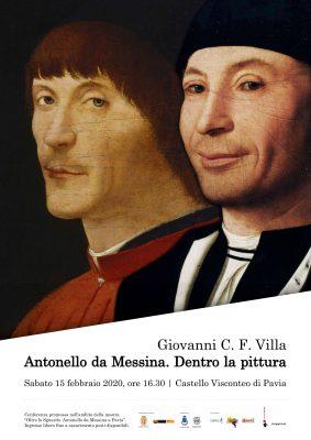Antonello da Messina - Sabato 15 Febbraio ore 16:30|Castello Visconteo di Pavia